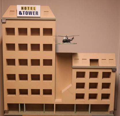 maquette De Bonte Os Hotel & Tower