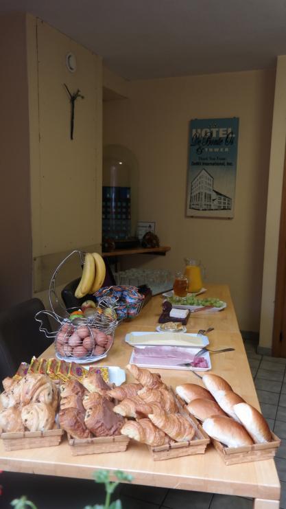 Ontbijt voor terras